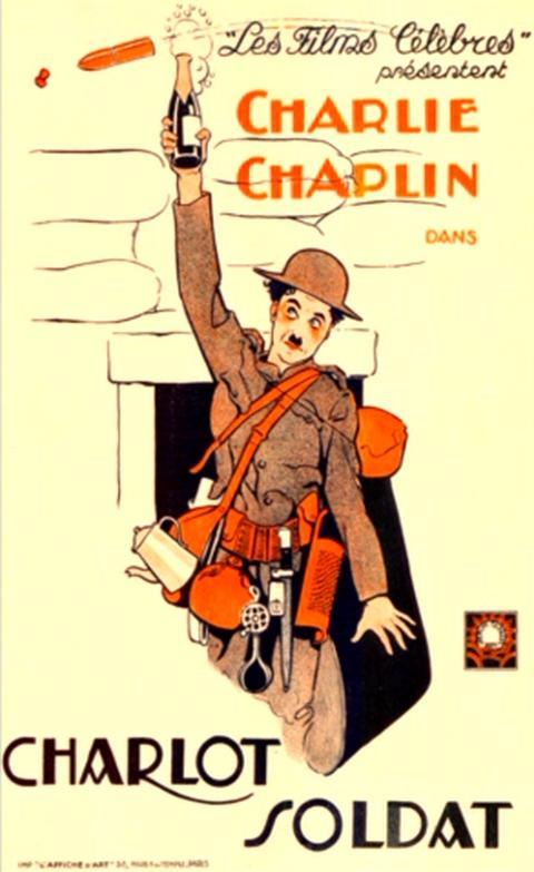 Charlot soldat 1918