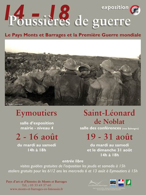Affiche Monts et Barrages 14-18