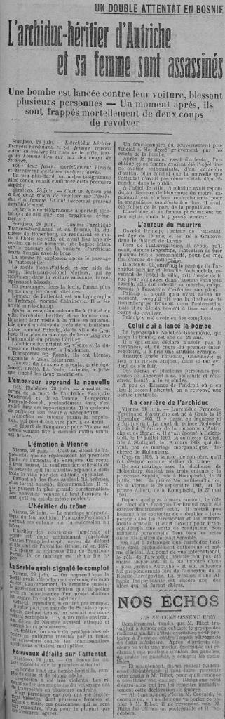 PDC 1914 06 30 Sarajevo