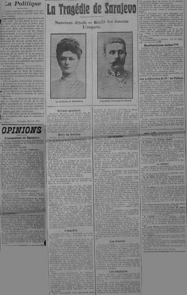 PDC 1914 07 01 Sarajevo