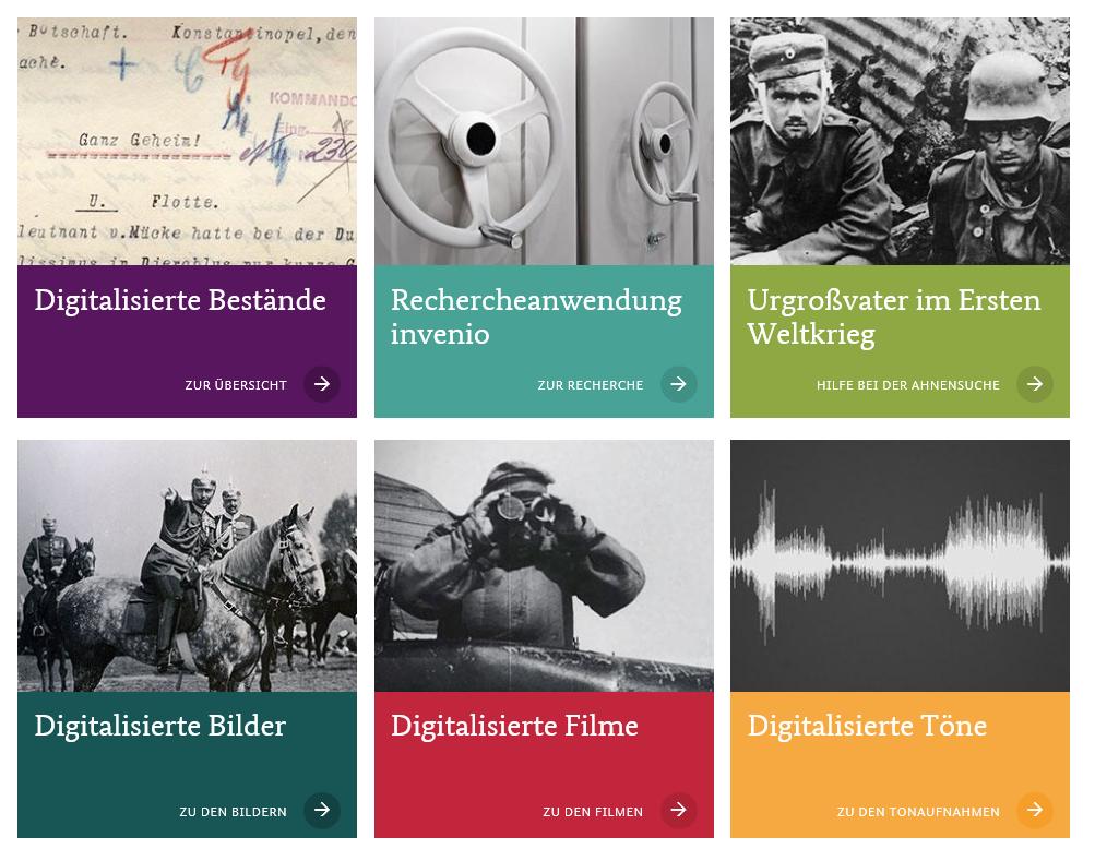 Portal des Bundesarchivs
