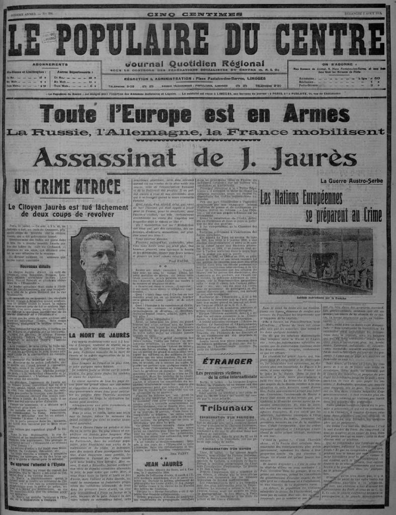 PDC 1914 08 02 Jaurès
