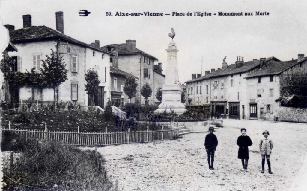 ADHV monument patriotique d'Aixe