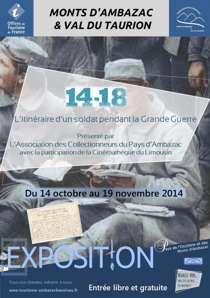 Affiche exposition Ambazac
