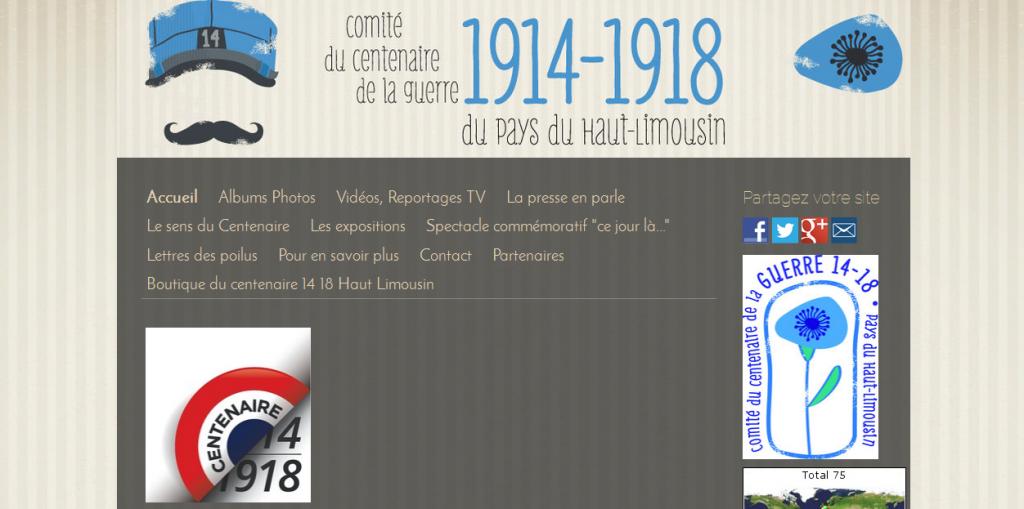 CDC 1914-1918 du Haut-Limousin