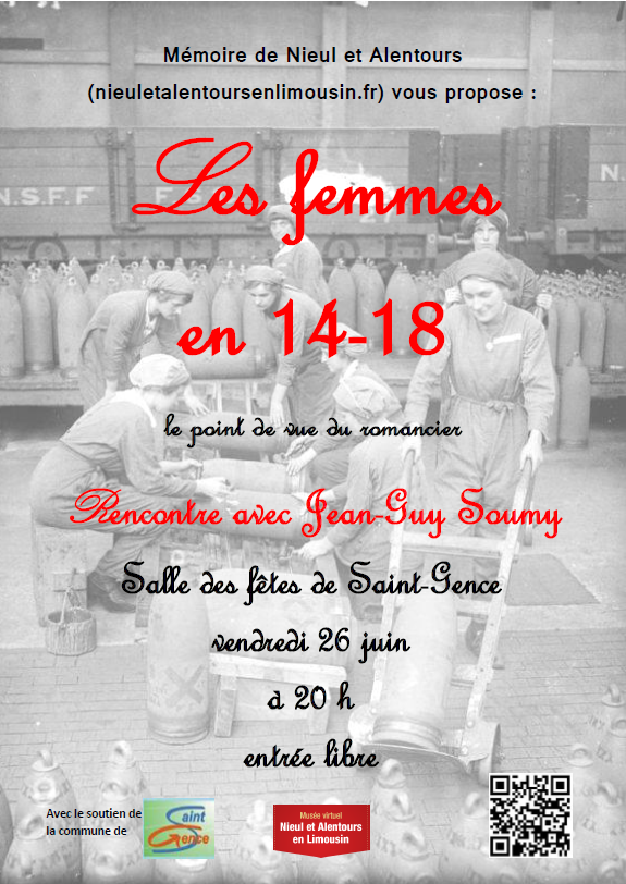 Affiche Jean Guy Soumy juin 2015