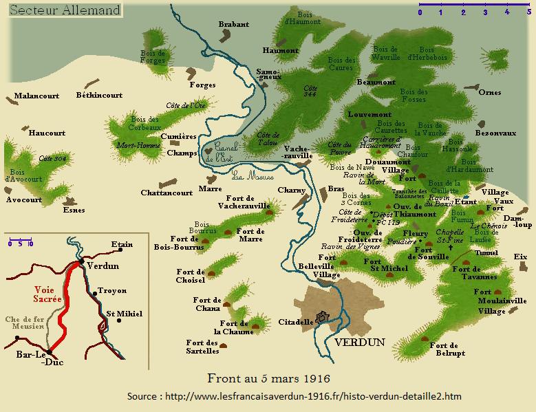 Bataille de Verdun 5 03 1914