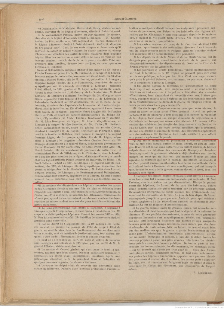 Limoges illustré 01 10 1914 P2