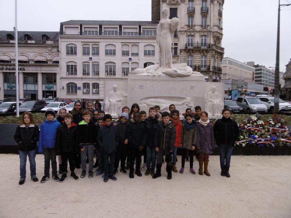1. École des Feuillants CM2 Mme Debeaulieu – Mardi 13/11/2018