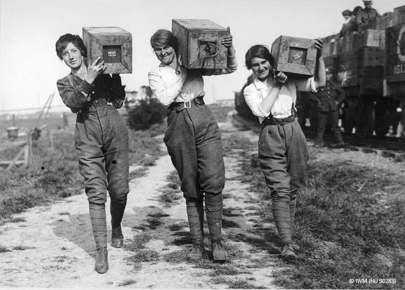 Womens fashion in ww1 19