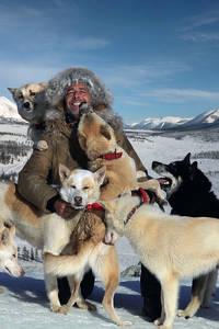 Nicolas Vanier et ses chiens