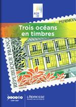 Couverture « Trois océans en timbres »