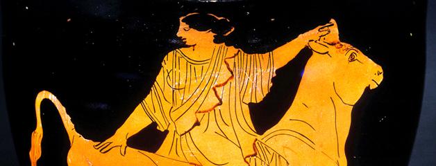 Céramiques des VI<sup>e</sup> et V<sup>e</sup> siècles av. J.-C. représentant Europe