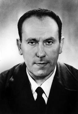René Char, écrivain français, (1907 – 1988). Vers 1950<br /> © Rue des Archives / AGIP