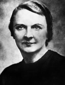 Berthe Albrecht, née Bertie Wild (1893 - 1943). Résistante française. Décédée à la prison de Fresnes. © Gérald Bloncourt / Rue des Archives