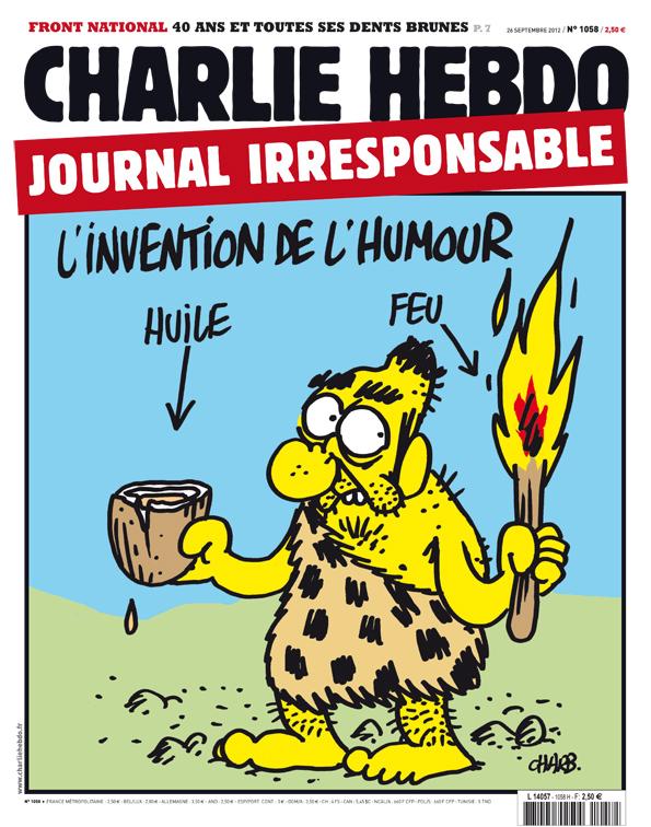 Une de Charlie Hebdo, n° 1058