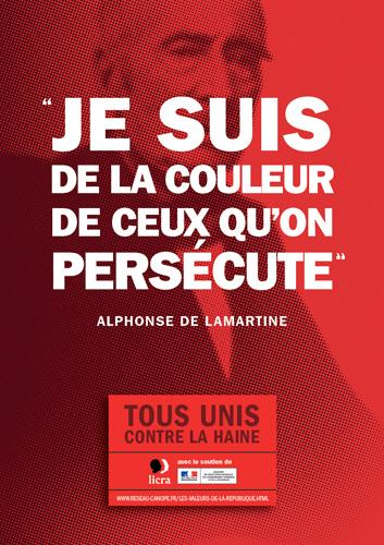Super Des affiches pour lutter contre le racisme et l'antisémitisme  NF13