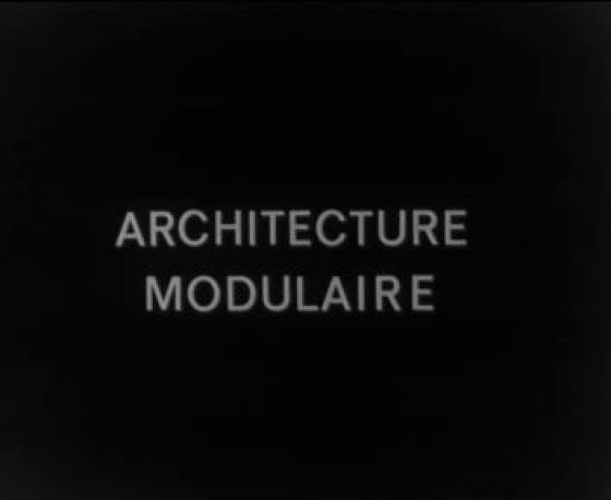 Film architecture modulaire r alisateur carpentier for Architecture modulaire