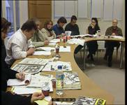 Conférence de rédaction du journal Charlie Hebdo