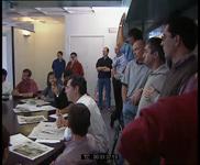 Conférence de rédaction du journal Libération