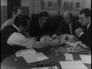 Conférence de rédaction du journal Paris-Match