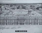 Vue aérienne du château de Versailles