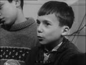 Filles et garçons commentent l'éventualité de la mixité scolaire, Michel Adenis