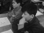 Travail scolaire en cours de français, Michel Adenis
