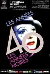 Affiche du 11e festival du film de Compiègne