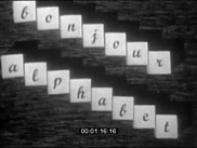 Bonjour Alphabet