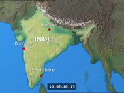 Trois familles en Inde