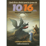 Gallimard jeunesse : catalogue junior 1986