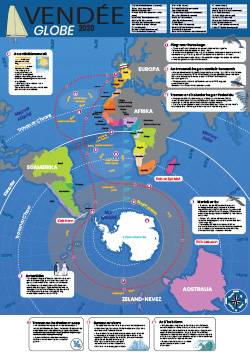 Kartenn ar Vendée-Globe 2016-2017 |