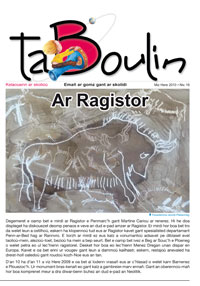 Taboulin 18 : Ar Ragistor