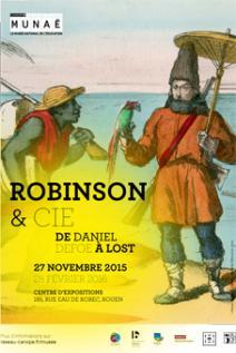 """Exposition """"Robinson et Cie : de Daniel Defoe à Lost"""""""